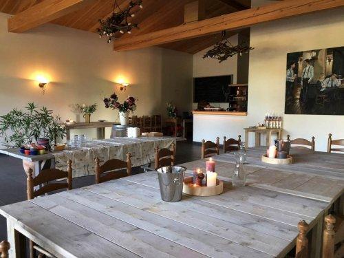 Wijnhuys op Wijndomein Erve Wisselink in Eibergen in de Achterhoek - Trouwlocatie - vergaderlocatie