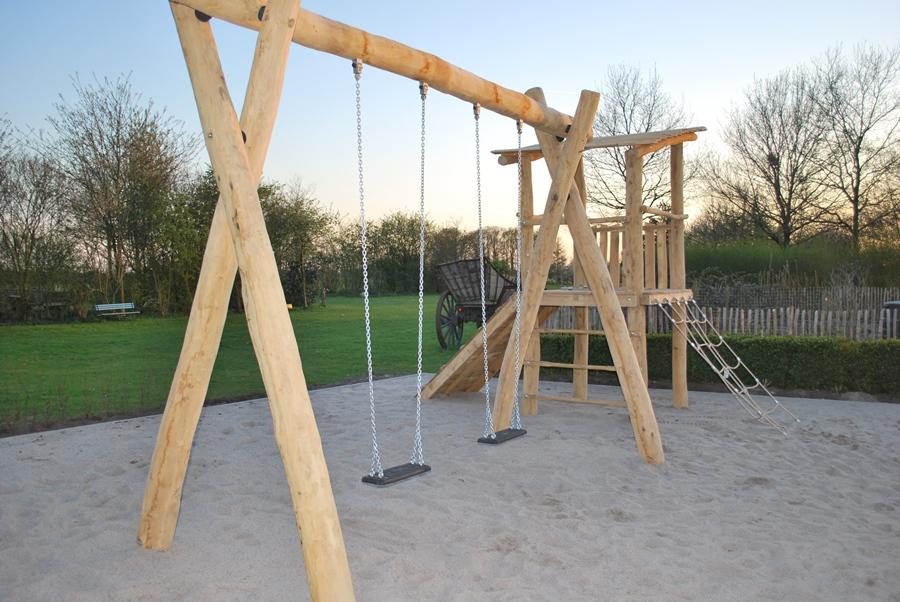 Vakantieboerderij met speelplaats: Wijndomein Erve Wisselink Eibergen Gelderland