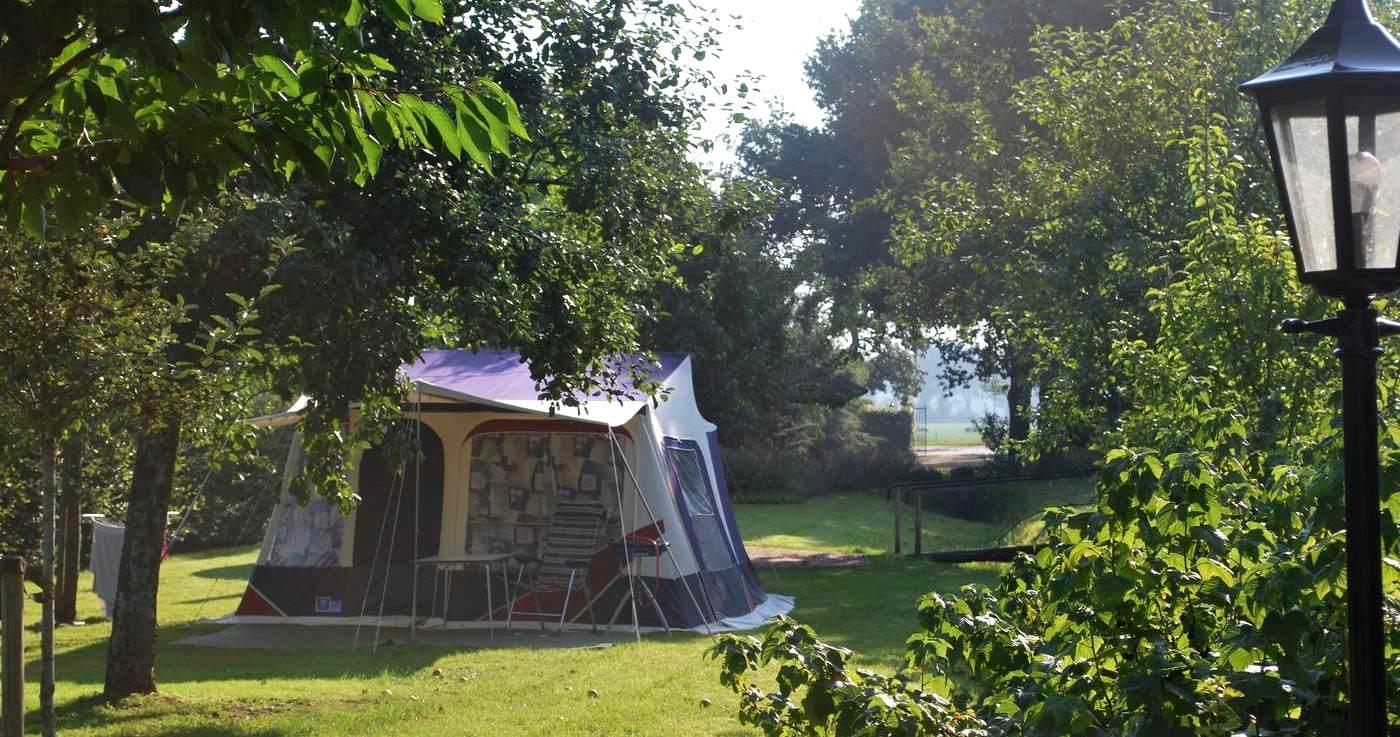 Camping Gelderland op wijngaard Erve Wisselink in Eibergen (Achterhoek)
