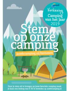 Anwb Verkiezing Camping Van Het Jaar 2019