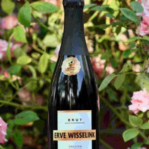 Nederlandse Champagne van wijngaard Erve Wisselink Eibergen - Achterhoek