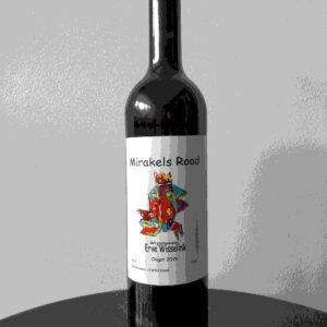 Nederlandse Rode Wijn - Mirakels Rood van wijngaard Erve Wisselink Eibergen - Achterhoek