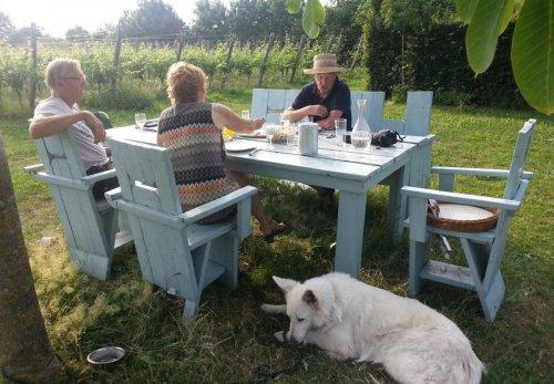 Familieweekend op wijndomein Erve Wisselink in Eibergen in de Achterhoek