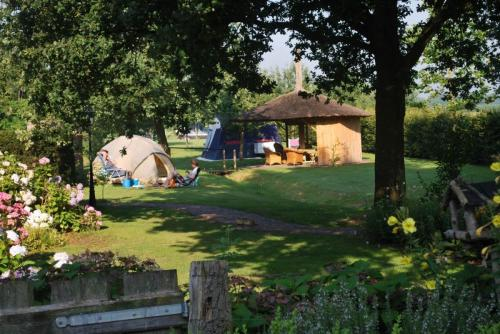 Camping in Eibergen in de Achterhoek - Charme Camping op Wijndomein Erve Wisselink