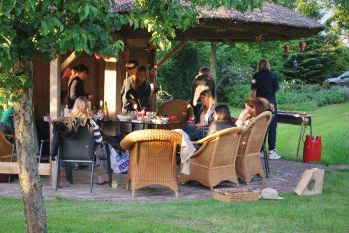Familieweekend op een wijngaard bij Wijndomein Erve Wisselink in Eibergen in de Achterhoek