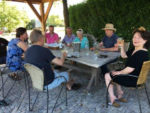 Wijngaard en Wijnhuys in de Achterhoek bij Wijndomein Erve Wisselink in Eibergen